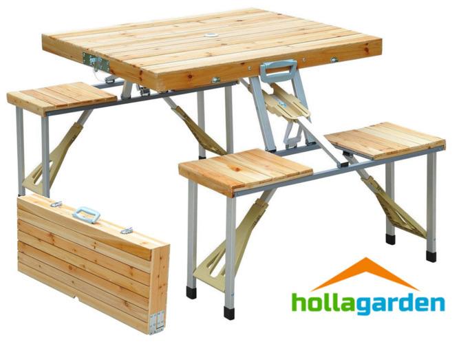 11144efef43 stół piknikowy 5w1 składany walizka stoldrew8565 | DOM i OGRÓD ...